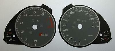 Lockwood Audi S5 KMH GREY Dial Conversion Kit C456