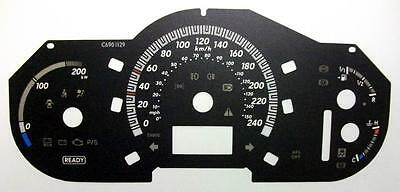 Lockwood Lexus RX400H 0-240KMH BLACK Dial Conversion Kit C690