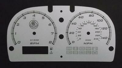 Lockwood Lotus Elise Series 2 S2 SILVER Dial Conversion Kit C879S