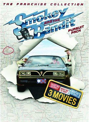 SMOKEY AND THE BANDIT PURSUIT PACK 1 2 3 New Sealed DVD