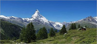 High resolution landscape panoramic photography - Matterhorn Zermatt