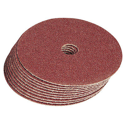 """100mm (4"""") FIBRE SANDING DISCS FOR ANGLE GRINDERS (Various Grits) - Packs of 10"""
