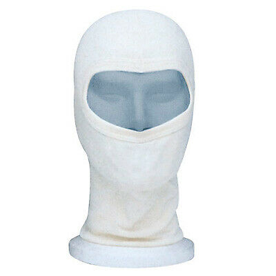 Sparco Cotton Balaclava In Natural White For Kart/Go Kart/Karting/Track Day