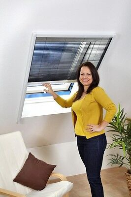 Insect protection for Roof window Pleated blinds 80 x 160 cm