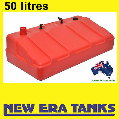 "50 litre - Boat petrol tank - ""New Era Tanks"" 50mm straight inlet"
