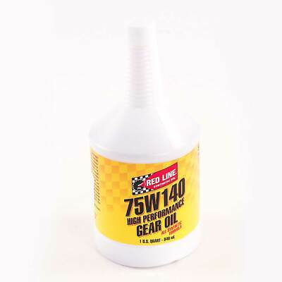 Red Line Fully Synthetic Gear/LSD Oil (0.96 litre) 75W140 57914