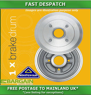 1 X Rear Brake Drum For Toyota Previa 2.4 05/1990 - 08/2000 1316