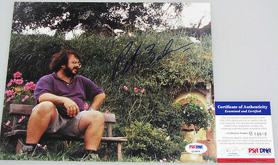PETER JACKSON Lord Of The Rings Hand Signed 8'x10' + PSA DNA COA Q14809