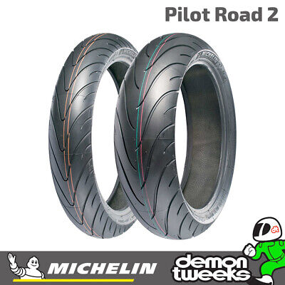 Michelin Pilot Road 2 Sport Touring Motorcycle / Bike Tyre