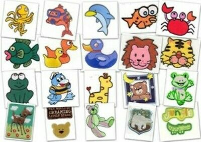 20 DESIGN Water Wild Animal Pet Motif Patch Decorative Embroidered Iron / Sew On