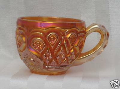 Vintage Imperial Royalty Punch Cup Marigold Carnival Glass
