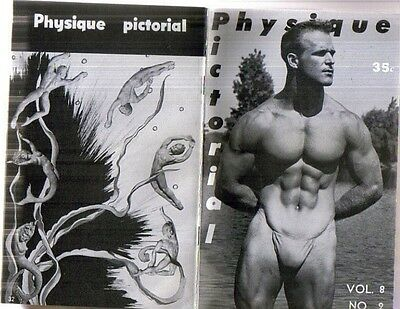 PHYSIQUE PICTORIAL MAGAZINE* SUMMER 1958* VOL 8 NO. 2 ** VIC SEIPKE