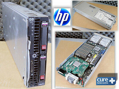 HP ProLiant BL460c. 2 x XEON X5260 3.33 GHz. 2 x 146Gb HDD. 16 Gb RAM