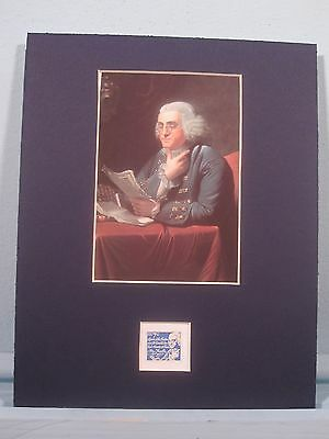 Benjamin Franklin  honored by his own stamp