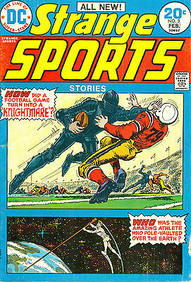 Strange Sports #3 - January-February 1974 - Nick Cardy - Knightmare