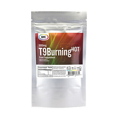 25 T9 Burning Hot Strong Diet Slimming Weight Loss Pills/tablets Fat Burners BHC