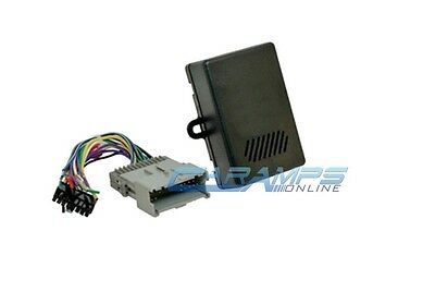 Gm Car Stereo Replacement Factory Interface Module W Wiring Harness Adapter Plug