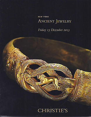 CHRISTIE'S Ancient Jewelry Seals Roman Egyptian Greek Byzantine Catalog 2013