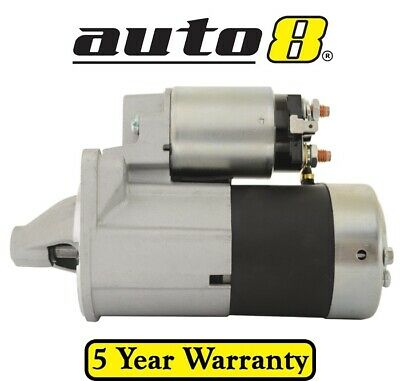 New Starter Motor to fit Holden Barina MB ML MF MH 1.3L (G13BA) '89 to '94