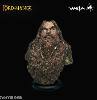 LORD OF THE RINGS GIMLI busto resina Weta Sideshow
