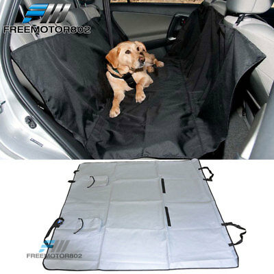 Dog Pet Back Car Seat Protector Waterproof Cover Hammock With Two Storage Pocket