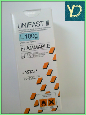 Dental GC UNIFAST III Self-Curing Acrylic Resin For Temporary Inlays - Free Ship