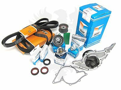 New OEM Audi 2.7T S4 RS4 A6 Allroad Deluxe Timing Belt & Water Pump Kit '00-05