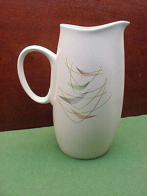 Franciscan Swing Time Tall Water Pitcher Mid Century Modern MCM