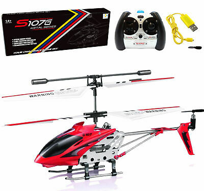 Genuine SYMA S107G 3.5-Channel 3CH Mini Metal Remote Control RC Helicopter GYRO