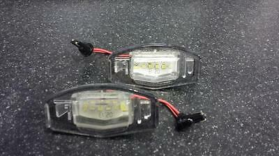 Honda Civic (01-05) 18 Led Smd Number Plate Replacement Units 6000K Xenon White