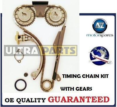 For Nissan Primera 2.0 Dohc 1990-->On New Timing Chain Kit With Gears Complete