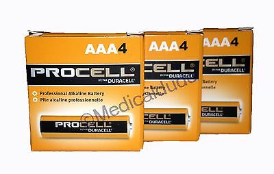 Duracell Procell PC2400 Alkaline AAA Batteries 12 Batteries 3 Packs of 4