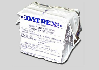 6 PK Datrex 2400 Calorie Bars Earthquake Emergency Survival Food Ration MRE