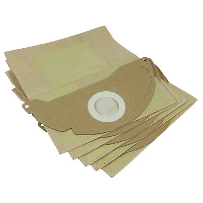 Karcher WD2200 WD2240 Vacuum Cleaner Hoover Bags Dust Bags 5 Pack