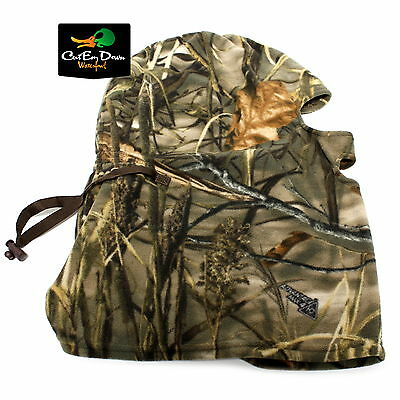 Drake Waterfowl Systems Mst Mid-Season Fleece Face Mask Facemask Max-4 Camo