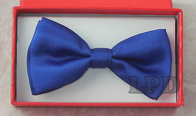 KIDS Bow Tie SUPER CUTE BLUE Adjustable BowTie Fashion For Toddlers New NeckTie