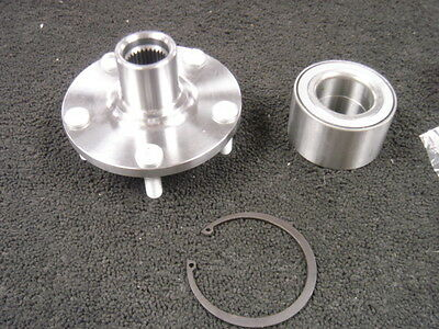 FOR NISSAN XTRAIL T30 2.0 2.2 2.5 DCi WHEEL BEARING FRONT WHEEL HUB FLANGE
