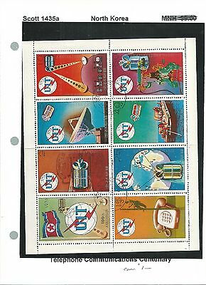Korea N., Postage Stamp, Space Topicals 1976 to 1992