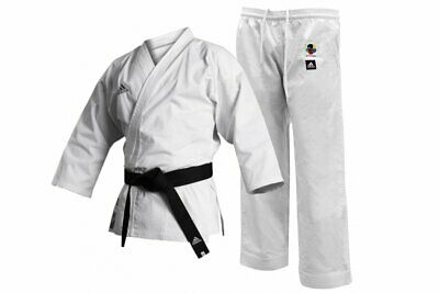 Adidas K220C 'Club' Karate Suit Adult Childrens Uniform White Gi WKF Approved