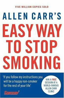 Allen Carr's Easy Way to Stop Smoking by Carr, Allen Paperback Book The Cheap