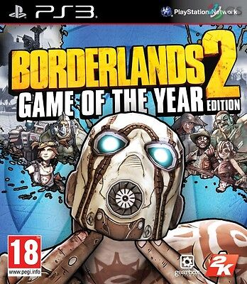 Borderlands 2 Game Of The Year Edition PS3 GOTY * NEW SEALED PAL *