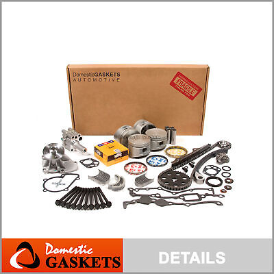 Fit 90-97 Nissan D21 Pickup 2.4L SOHC Master Overhaul Engine Rebuild Kit KA24E