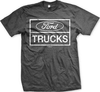 Ford Trucks- Officially Licensed Slogans Sayings Statements- Men's T-shirt