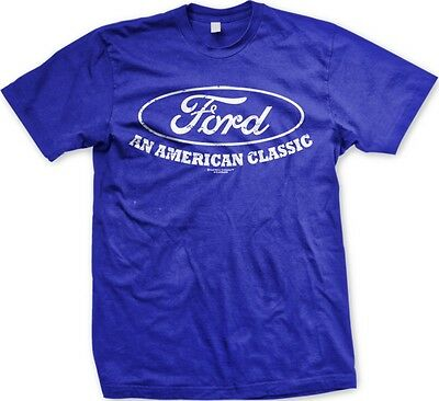 Ford An American Classic- Officially Licensed Slogans  Statements- Men's T-shirt