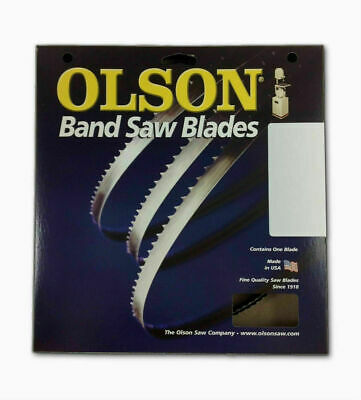 "Olson WB56380DB / TK12580DB Band Saw Blade 80"" x 1/4"" x .020"" Thick w/ 6 TPI"