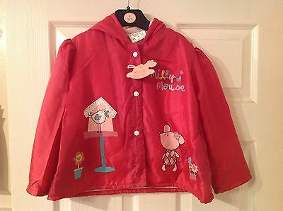 BNWT Girls Fuschia Lightweight Jacket Choose Size Clothes Children Coat