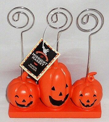 Halloween Photo Holder  Pumpkins