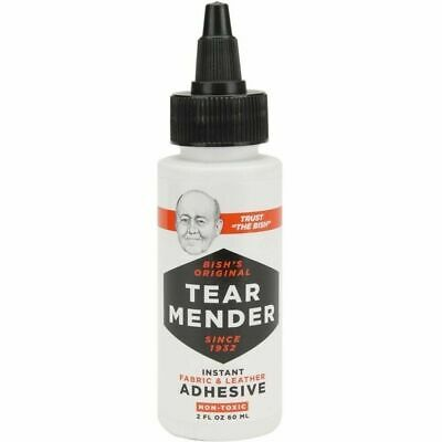 Tear Mender TM-1 Fabric and Leather Adhesive Mender 2 oz Dries Waterproof