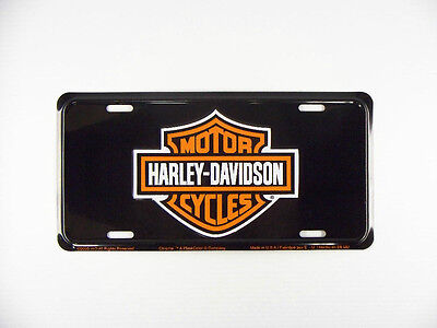 Harley Davidson License Plate Signs 001