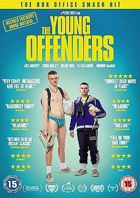 THE YOUNG OFFENDERS Alex Murphy Chris Walley DVD in Inglese NEW .cp